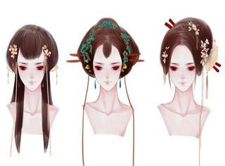 今天才知道古代发型竟然是这样,太美了!!