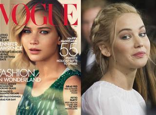 不搞怪的大表姐其实很帅气,美版《Vogue》封面信手拈来