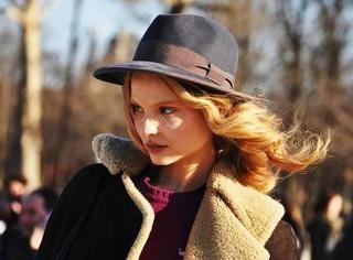 显瘦|4类秋冬帽子,你的脸型适合哪一种?