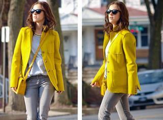 开眼界 | 秋冬抢眼新搭配,外套和包包颜色一样才时髦