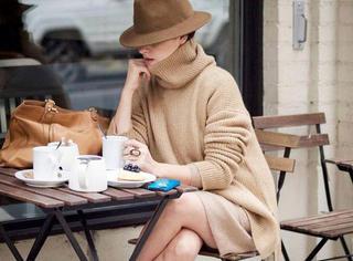 驼色是最有钱的颜色你造吗?穿上你就是白富美!