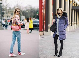 最流行的冬季羽绒服搭配技巧!简直美哭了