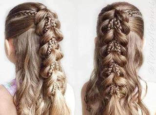 长发姑娘都拒绝不了的美扎发!要学趁早!