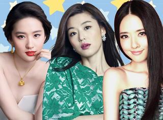 刘亦菲、全智贤、郭碧婷...这些女明星帅过直男 把女生都掰弯了