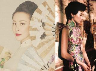 刘嘉玲中国风造型不输张曼玉,优雅大气一代佳伶