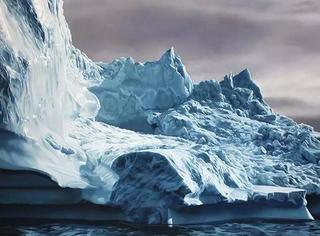 小时候妈妈带她看山和大海,长大后,她将它们都画了下来,大家欣赏一下