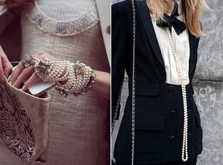 谁说珍珠只适合老奶奶?NO!现在戴珍珠最时髦!