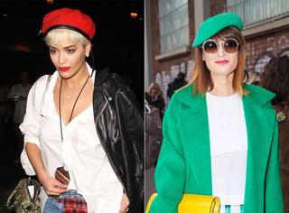 Chic | 从戴安娜到蕾哈娜 她们都爱贝雷帽