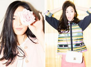 刘雯的新衣到了 大表姐在严寒中给你们送温暖的春色来了
