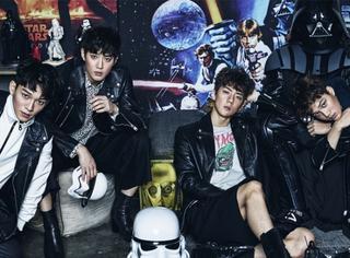 EXO给韩国Vogue拍摄宣传画报 这几只是谁家的帅鲜肉快来领走