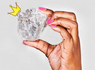 1111克拉,世界第二大钻石被挖出来啦!可还是只有最大那颗的1/3