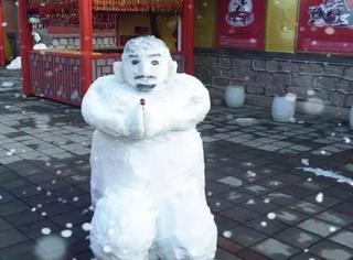 大雪来了,那些搞怪奇葩的雪人也来了!