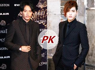 吴亦凡 PK 张震:同一身西装,你更中意谁?