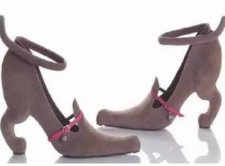 第一次见这样的鞋,你敢穿着出去吗?
