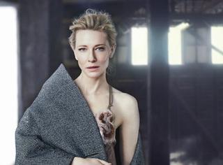 赏色丨凯特·布兰切特《Vogue》这要图美炸了