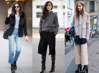 哪些类型的裤子拿来配靴子最好看?