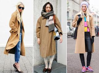 今年冬天驼色为什么火?驼色大衣如何穿才最有味道?