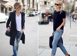 衣Q进阶 | 一条直筒牛仔裤 怎么穿成潮流新款