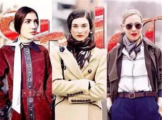 最贴心的围巾系法大全保证出彩又保暖!