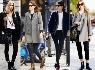 女人冬天买鞋子一定要买踝靴,谁穿都好看!