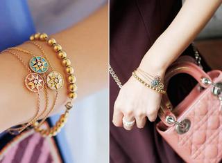 Dior这条手链真的太美了!Rose des Vents已经横扫时尚圈!