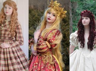 她不是公主,却用一双巧手为自己做出了世界上最美的公主裙!