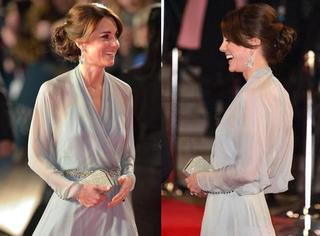 凯特王妃瘦成纸片人?女人还是有点肉穿衣才够美!