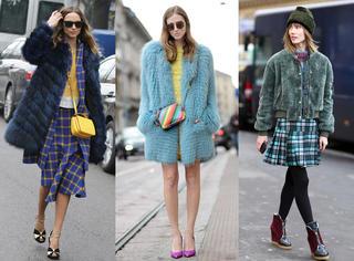 有范儿| 皮草+连衣裙最懂女人心 10套潮搭演绎今冬风情着装!