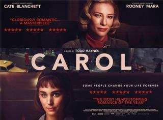 年度百合巨制《卡罗尔》 这大概是今年最美的电影海报