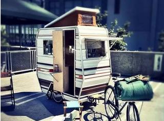 三蹦子竟被外国人爆改成房车,终于实现房车梦了!