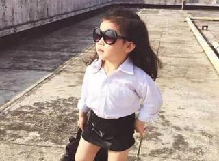 这样打扮女儿,你喜欢吗?