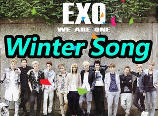EXO《sing for you》预告照公开,冬日暖男们来啦!