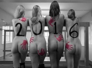 英国女大学生全裸拍挂历?其实她们是在做慈善