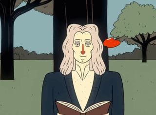 14岁的爱因斯坦用苹果杀了他的偶像