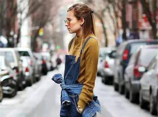 平胸姑娘秋冬这么穿,漂亮且时髦!