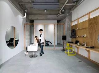 日本最性冷淡风的理发店每次只为一位顾客服务