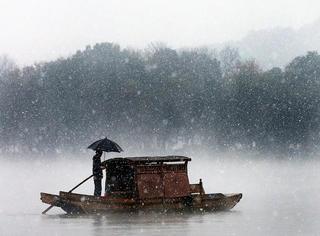 """下雪后的西湖美成画,这才是""""独钓寒江雪"""""""