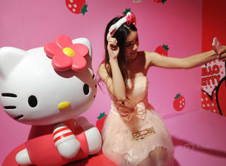 其实Hello Kitty才是永远不服老的少女