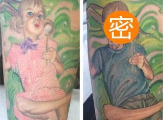 """女儿变性之后,这位妈妈做了一个最感人的刺青""""更新""""!"""