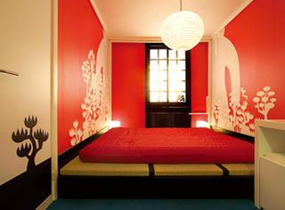 东京的这家小酒店竟然可以自主搭配房间配置