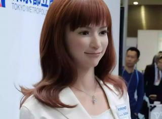 日本国际机器人展上的仿真机器人,漂亮还是惊悚?