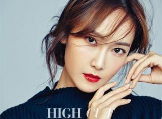 少女时代Jessica拍摄杂志写真 满屏都是御姐的烈焰红唇