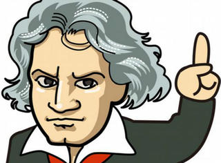 为了纪念贝多芬诞辰245周年,谷歌让我们知道封面涂鸦还能这么玩