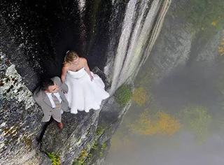 这是今年最让人脸红心跳的婚纱照!