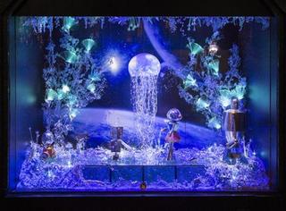 全球最美的2015圣诞橱窗,一起迎接最梦幻的节日吧!
