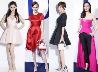 唐嫣、刘亦菲、Angelababy... 她们都是Dior的时尚宠儿