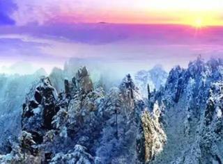 大雪之后的九寨沟,刚拍的,美到爆!