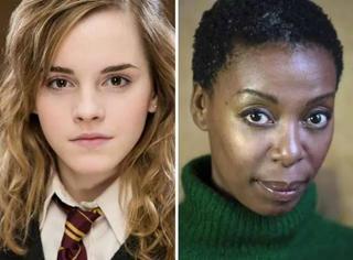 当哈利波特剧场版里由非裔黑人演员来演赫敏,罗琳面对一片炸毛声给出了回应
