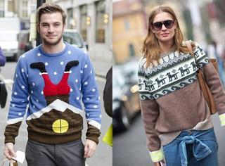 单品 | 圣诞节穿啥应景又时髦?快把祖母压箱底的毛衣拿出来