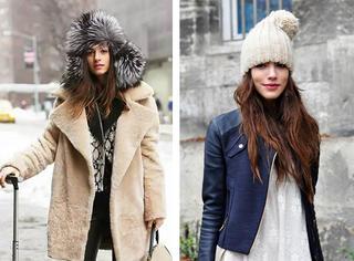 雷锋帽vs. 毛线帽:温暖时髦两不误!